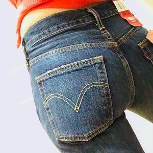 🆕 levi's | 501 distressed taper jeans bolt blue